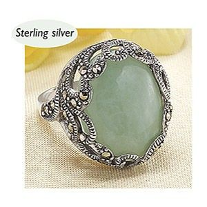 Jade Marcasite Ring review buy shop with friends sale Kaboodle