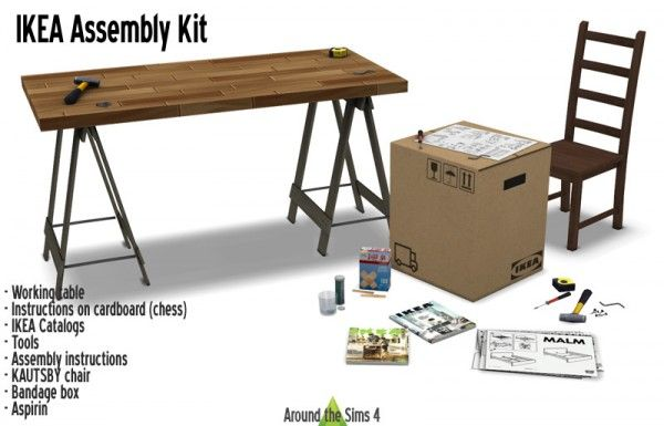 Around The Sims 4: Assembly Kit • Sims 4 Downloads
