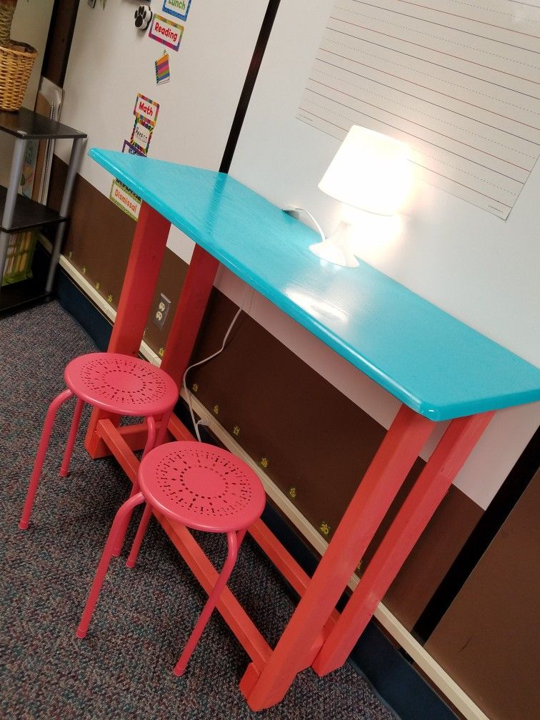 Diy Standing Table Flexible Seating Classroom Classroom Seating