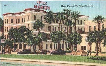 Hotel Marion Florida Hotels St Augustine St Augustine Florida