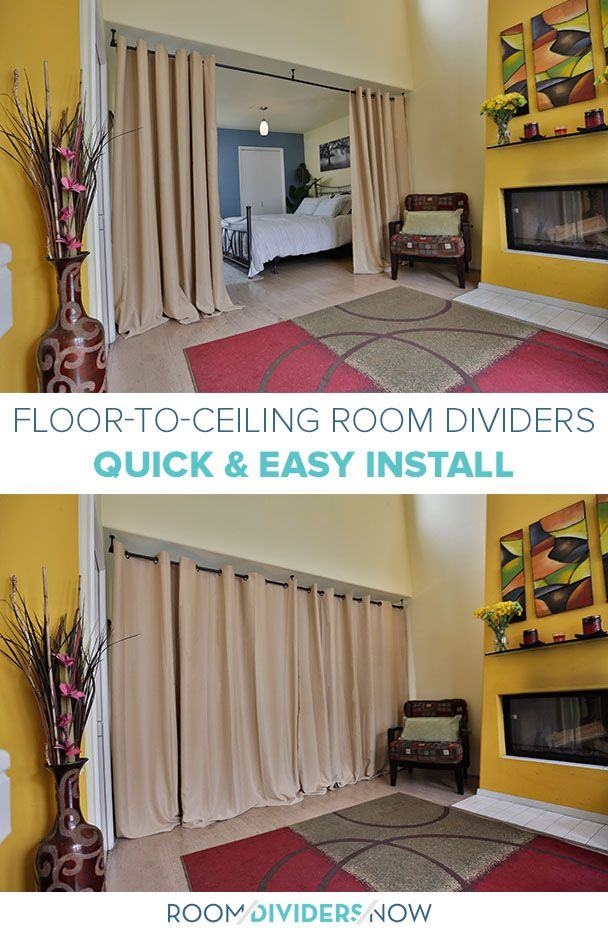 Easy To Install Floor To Ceiling Room Dividers From