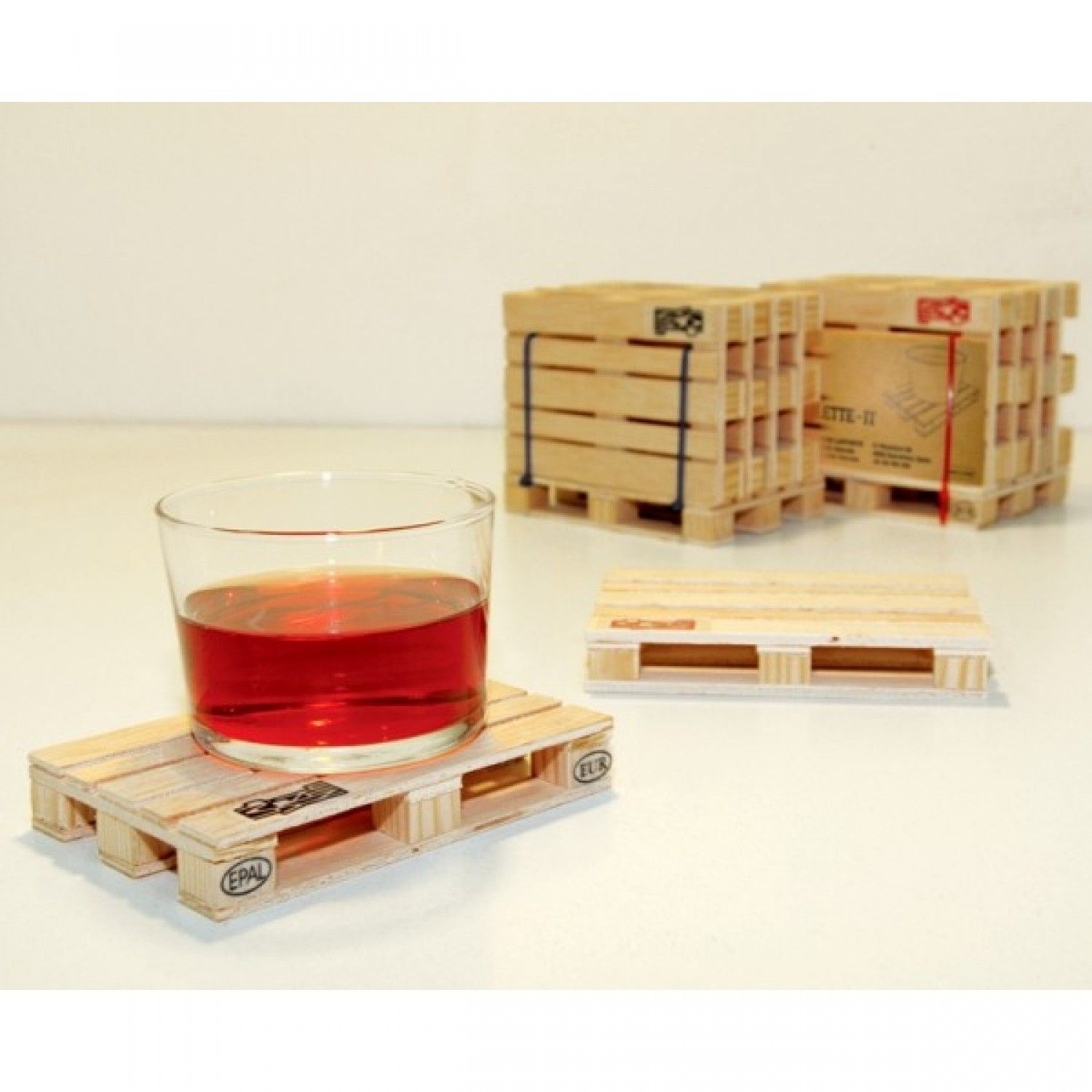 palette it set of 5 designer coasters mini pallet on inventive ideas to utilize reclaimed wood pallet projects all you must to know id=51986