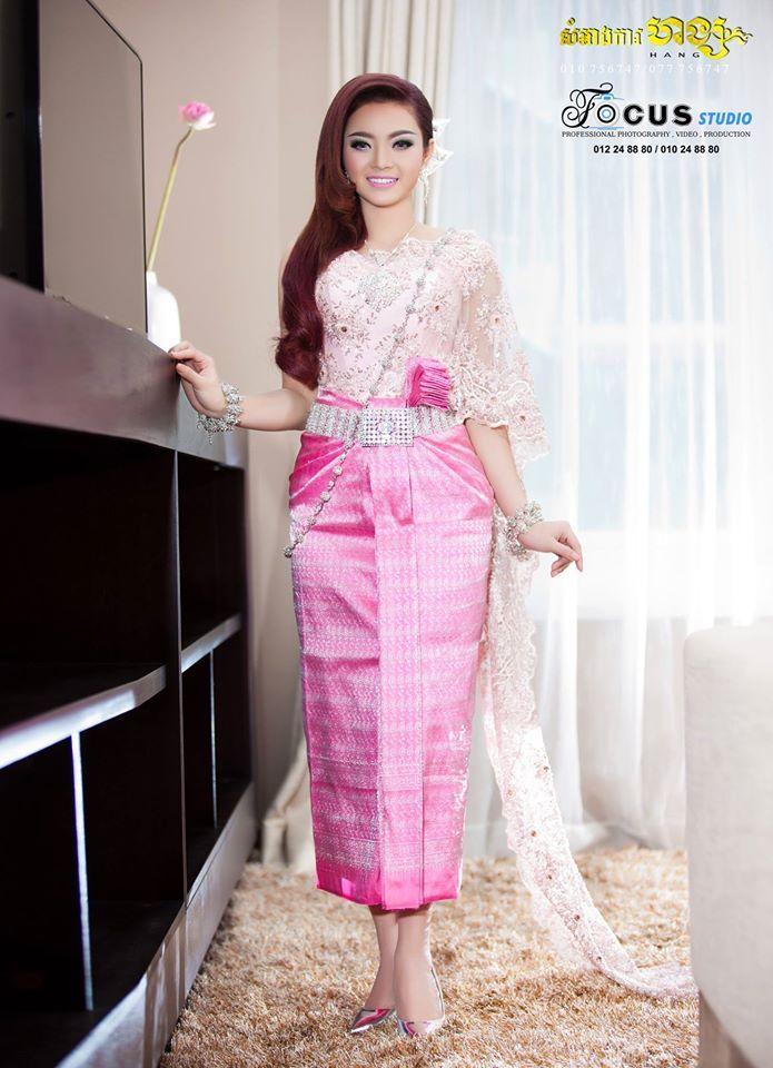 Excepcional Trajes De Boda Khmer Friso - Ideas de Vestidos de Boda ...