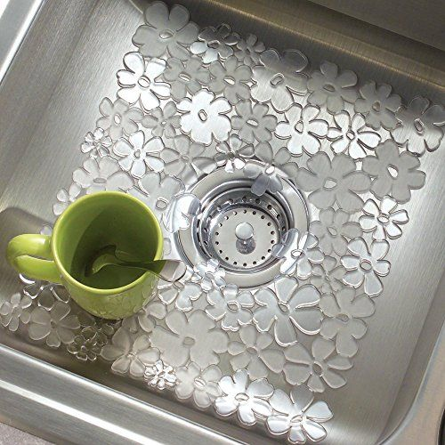 Regular Sink Mat Drain Protector Mats Dishes Rack Drainer Dish Glass Kitchen Click Image To Review More Details Note It Is Affi Sink Mats Glass Kitchen Sink