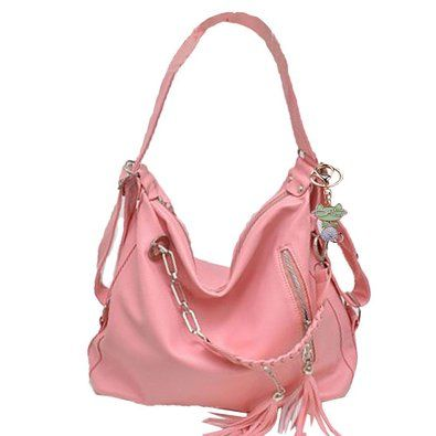 pink hobo bag - Pesquisa Google | Bag and Glasses | Pinterest ...