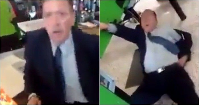 <p>Ciudad de México.- Un sujeto se robó unos chocolates en una Bodega Aurrera y, al verse descubierto, se tiró al piso y fingió