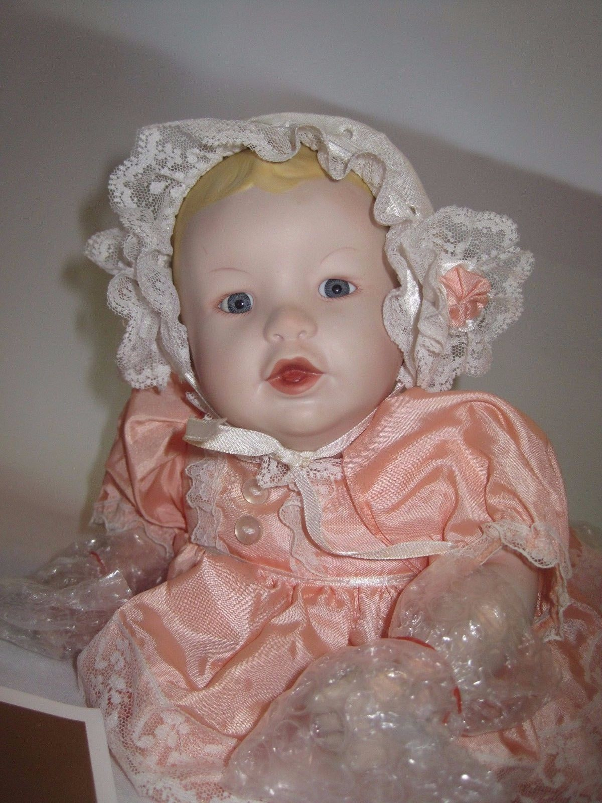 Ashton Drake 1986 Heather Yolanda Bello Picture Perfect Babies Doll, Box, COA +