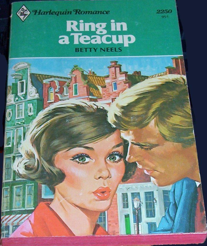 Harlequin Romance Book Cover : Ring in a teacup by betty neels harlequin romance