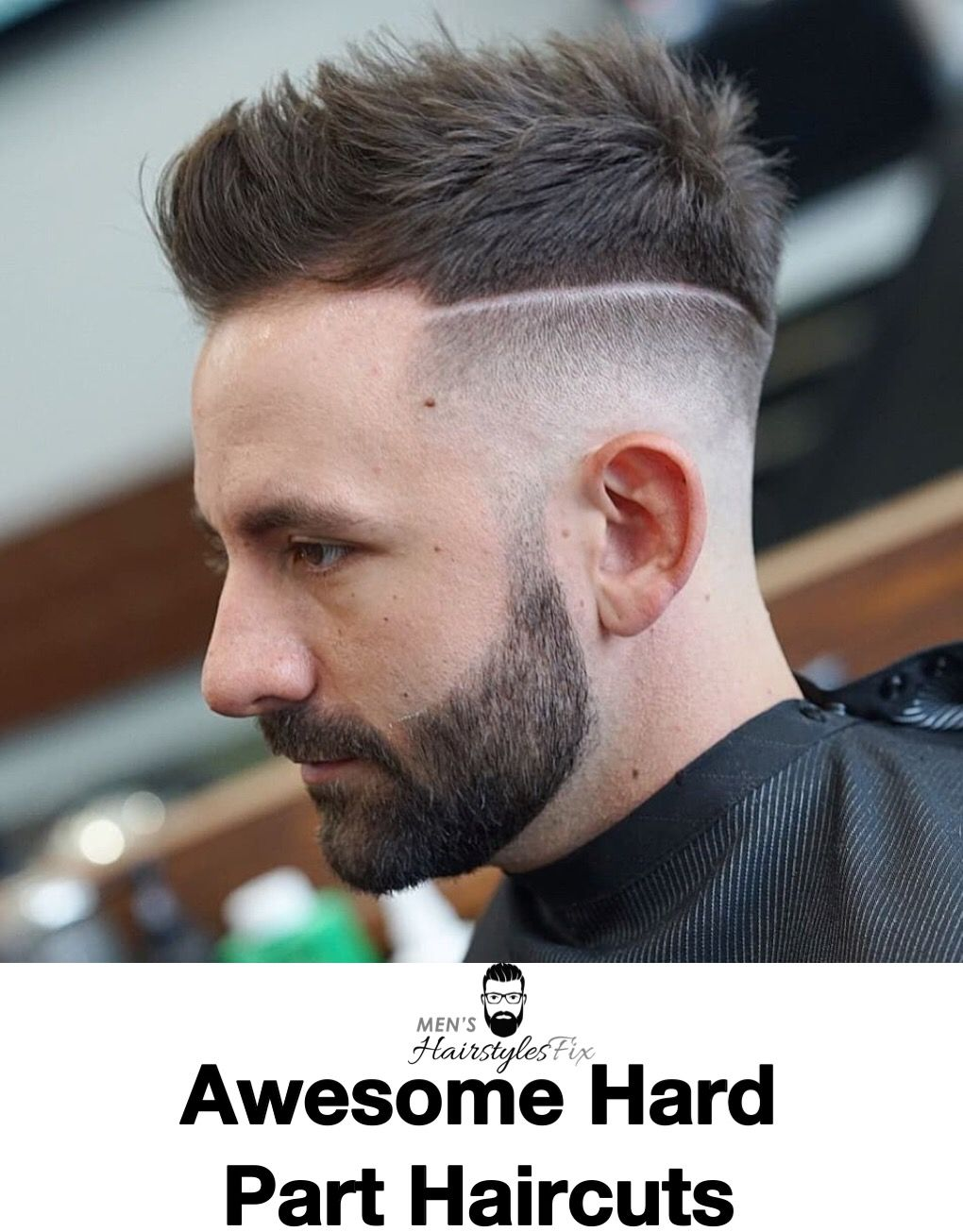 How To Style A Hard Part 20 Awesome Hard Part Haircuts Haircuts