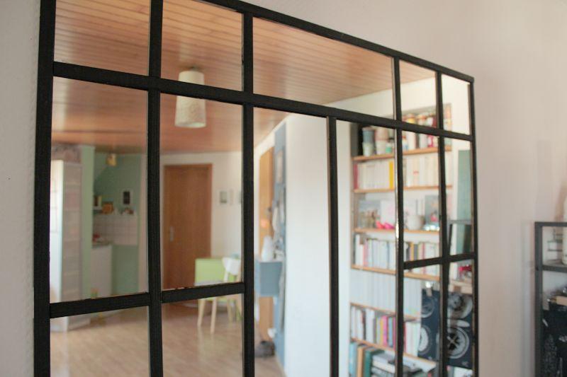 ellybeth une verri re en miroir d co divers deco. Black Bedroom Furniture Sets. Home Design Ideas