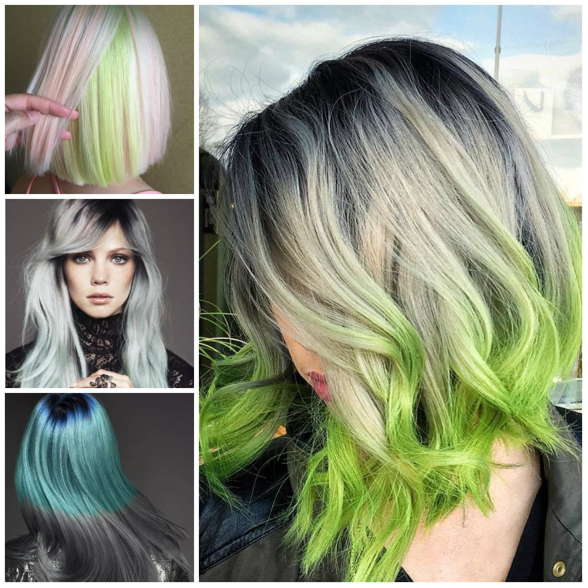 The best ways to rock green hair in 2017 haircuts hairstyles the best ways to rock green hair in 2017 haircuts hairstyles 2016 2017 pmusecretfo Image collections