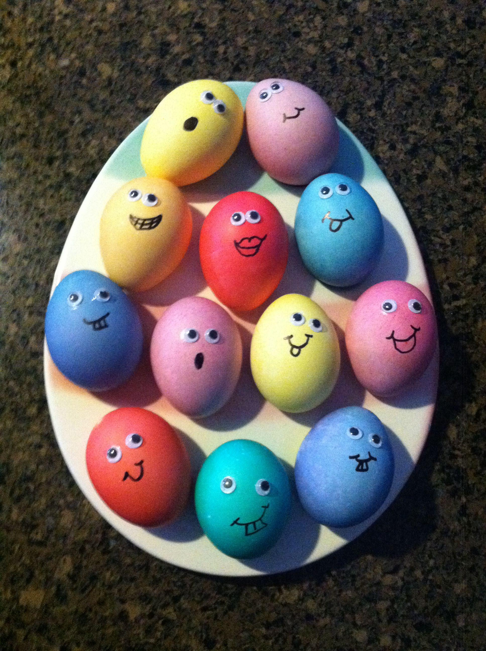 Nailed it! Google eye Easter eggs!!