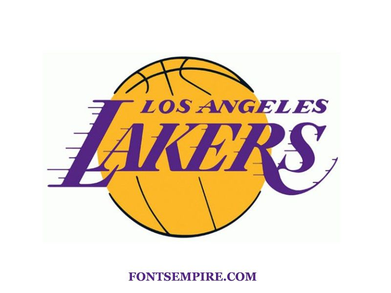 Download Lakers Font From Here By A Single Click That Includes Free Font Bodoni Font Nba Font Serif F In 2020 Los Angeles Lakers Logo Lakers Logo Los Angeles Lakers