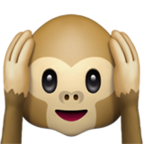 Hear No Evil Monkey Emoji Emoji List Emoji Art