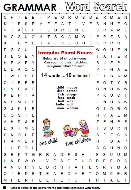 Picture   Teaching - 1st Grade   Irregular plurals