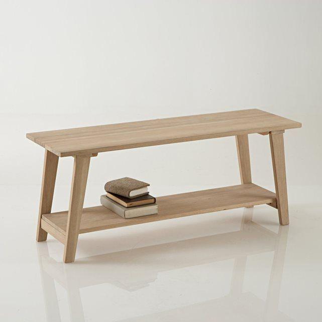 banc d 39 entr e oaky bancs chene blanchi et la redoute. Black Bedroom Furniture Sets. Home Design Ideas
