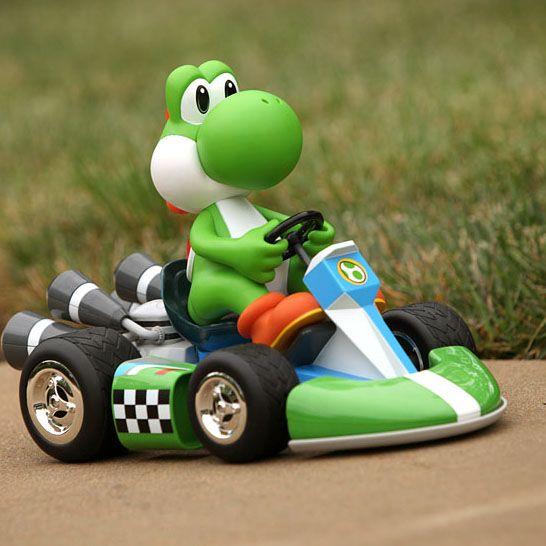 Super Deluxe Mario R C Cars Geek Toys Mario Kart Radio Control