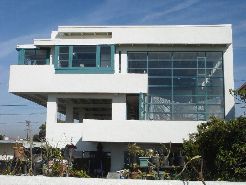 lovell beach house in los angeles california by richard neutra