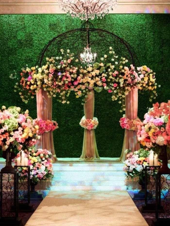 Romantic Garden Wedding Ideas in Bloom   Garden weddings, Romantic ...