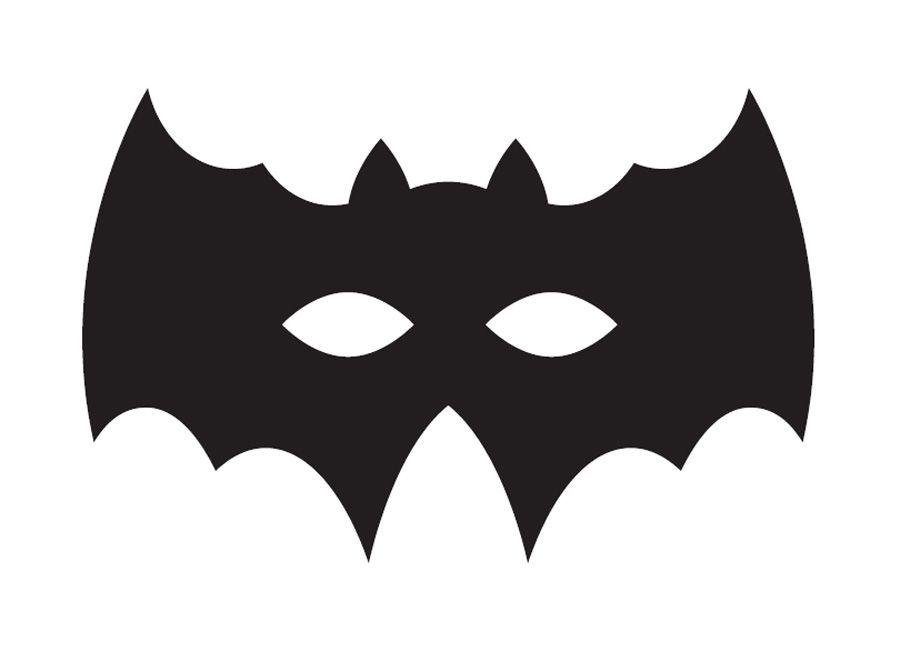 Manualidades Con Papel Para Halloween Mascara De Morcego Dia