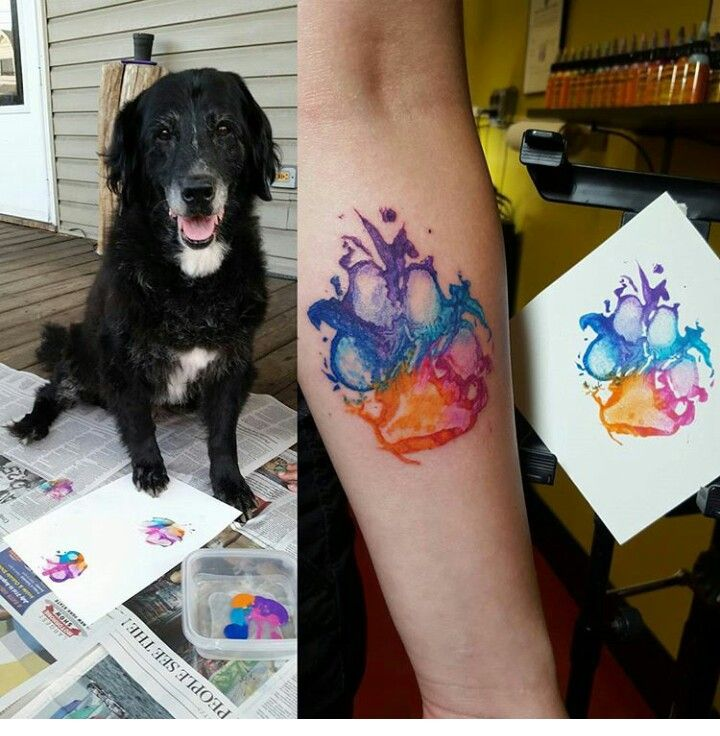 What Do You Think With Images Pawprint Tattoo Tattoos Print