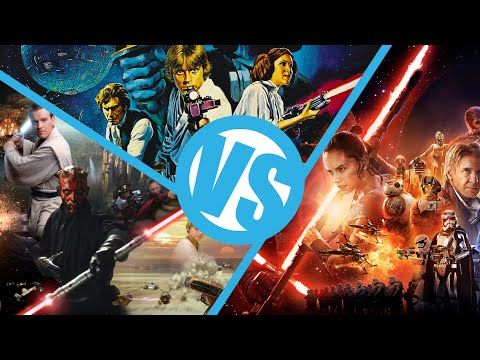 Star Wars: The Force Awakens VS A New Hope VS The Phantom Menace : Movie Feuds