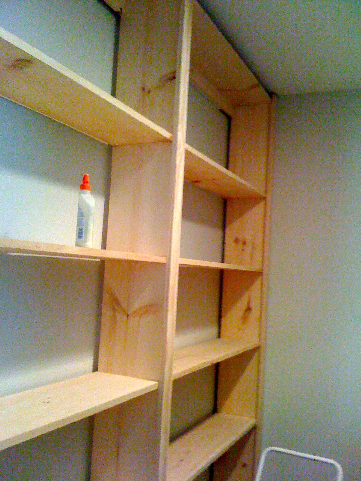 Inspired To Build Diy Built In Bookcase Bookcase Diy