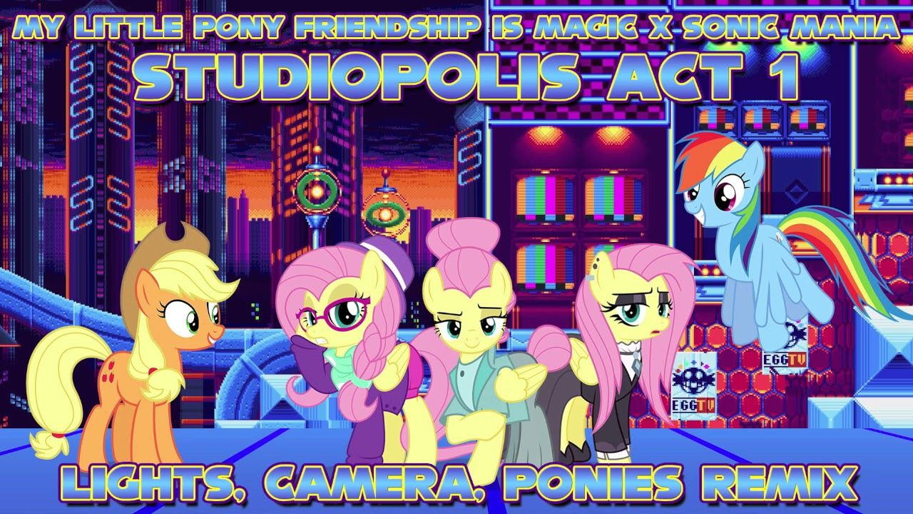 MLP FiM x Sonic Mania] Studiopolis Zone Act 1 (Lights Camera