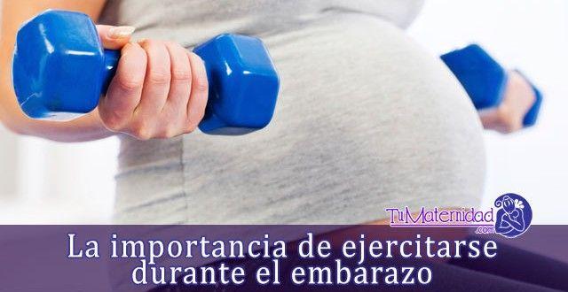 La importancia de ejercitarse durante el embarazo - #embarazo http://www.tumaternidad.com/embarazo/la-importancia-de-ejercitarse-durante-el-embarazo/