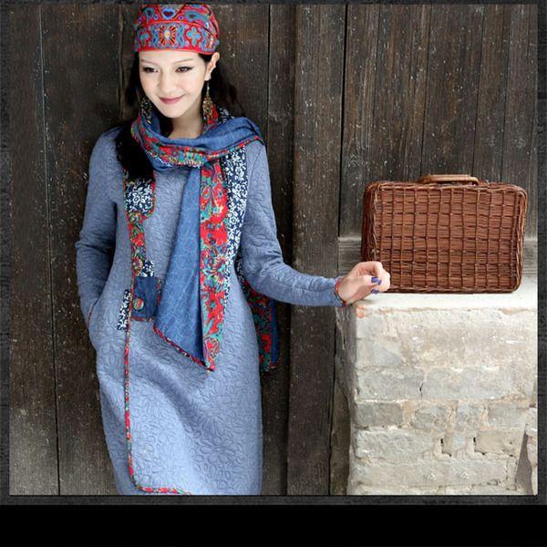 manteau  ethnique  de zinnia sur DaWanda.com
