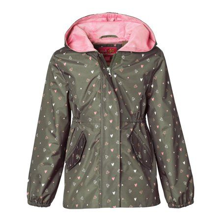 eb8feb981 Pink Platinum Girls 2T-4T Heart Mesh Jacket