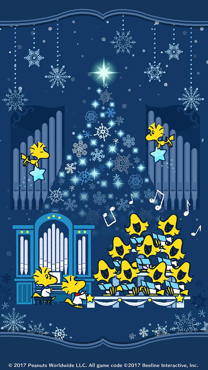 スヌーピー スヌーピー クリスマスの壁紙 スヌーピーの壁紙