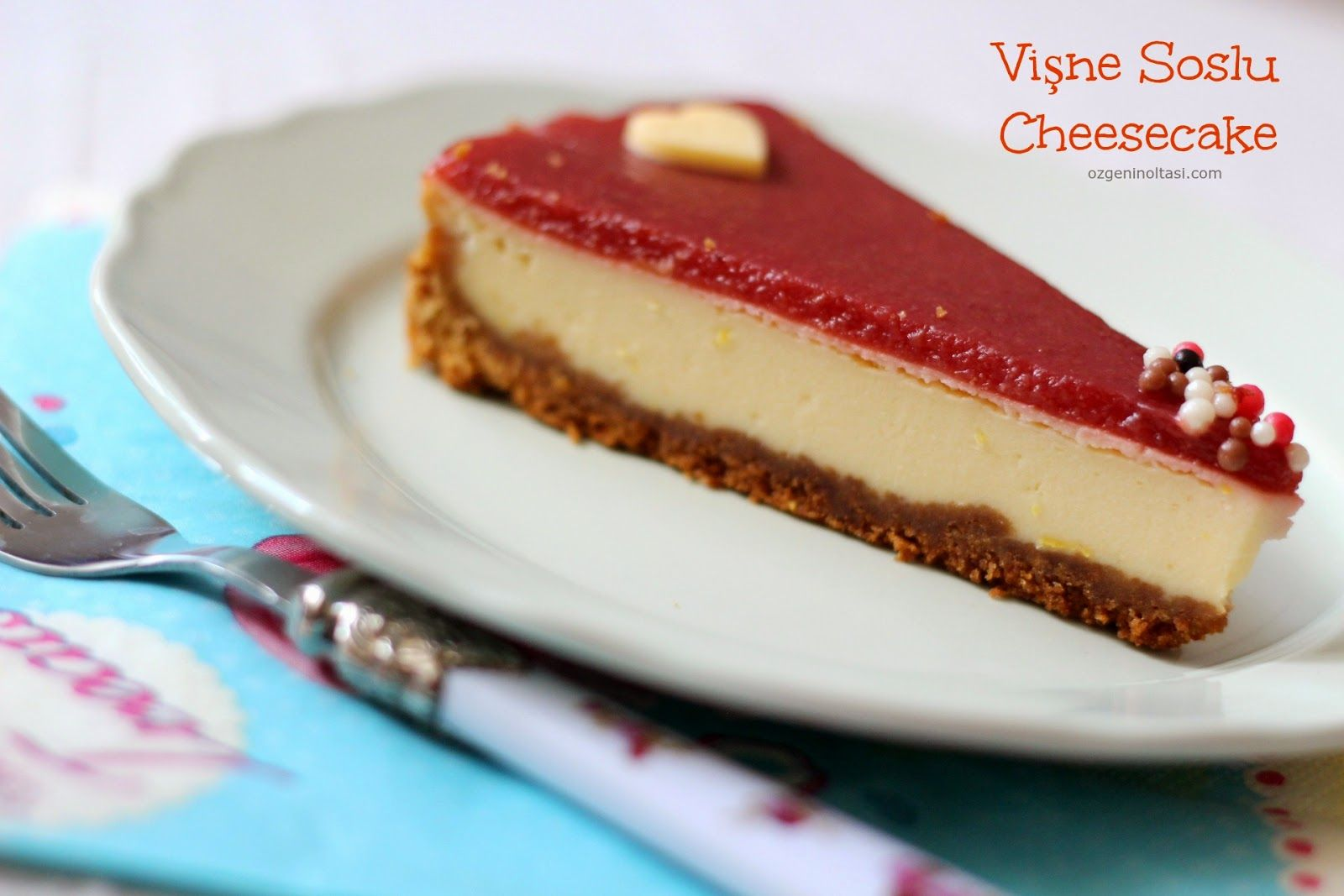 Frambuazlı Cheesecake Tarifi Meyve Soslu Cheesecake Denenmiş Tarifi