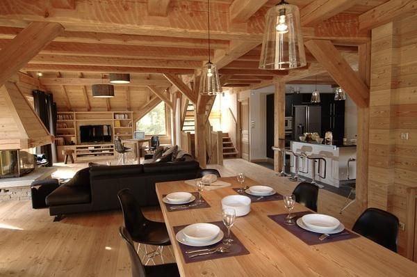 Stunning Interieur Chalet Montagne Pictures - Design Trends 2017 ...
