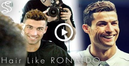 Cristiano Ronaldo hairstyle 2017 & short summer haircut with color for men #hair...