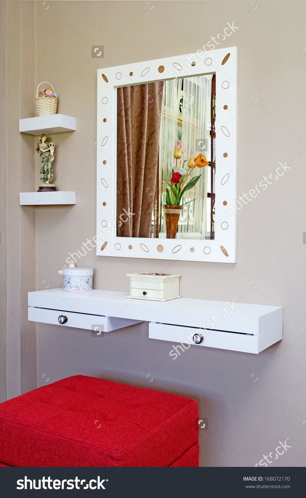 vanity table for small space. Explore these ideas and more  Jessica McClintock Bedroom Vanity Set Pin by Kathryn Connolly on Pinterest