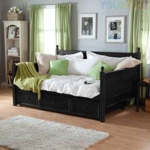 Brand New Siesta Daybed Sofa Bed Day Bed Trundle Bed Twin Single Bed In Black Ebay Guest Bedroom Office Guest Bedroom Home