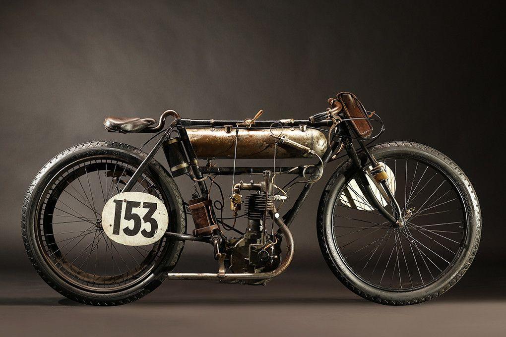 1903 PEUGEOT FACTORY RACER Motorcycle, Vintage