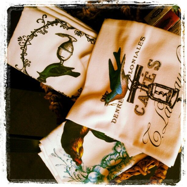 Our own flour sack towels!