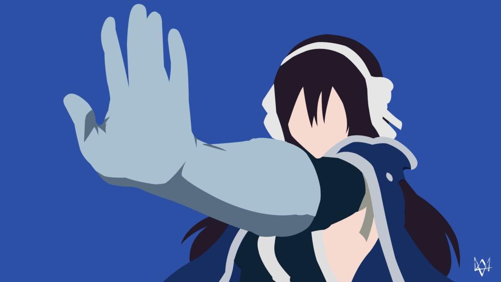 Ultear Milkovich (Fairy Tail) Minimalist Anime WP by Lucifer012 on DeviantArt