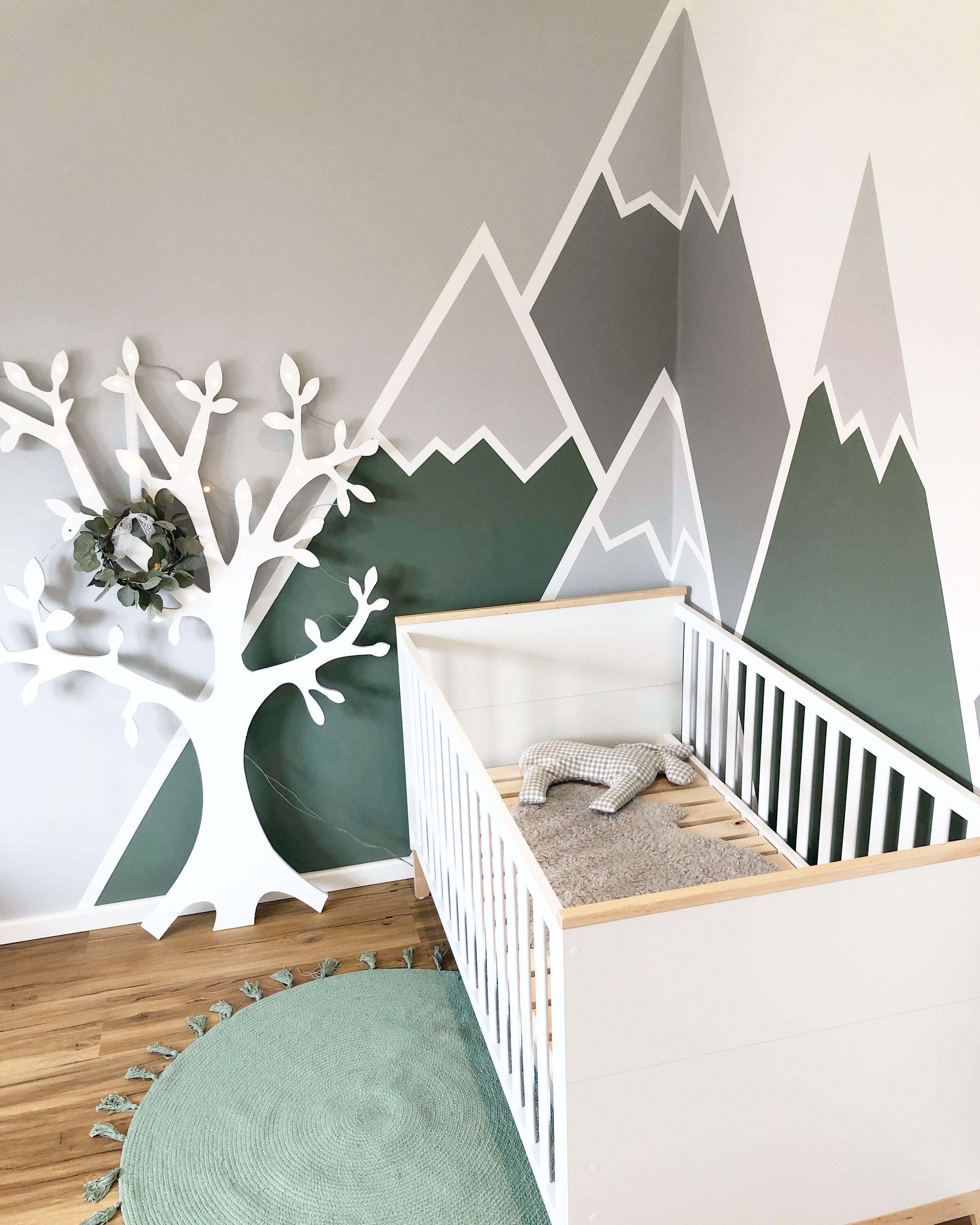 Babyzimmer Wand