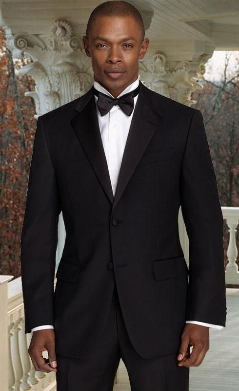 2014 New fashion-Trends Black slim fitness Notch lapel tuxedo/ prom ...