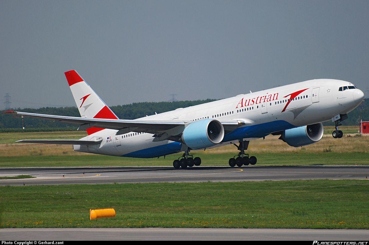 Flightmode Austrian Begins Flights To Los Angeles From 10apr17 Austrian Los Angeles Boeing 777