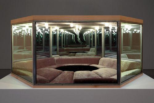 Playroom Paul Pfeiffer 2012 Steel Glass One Way Mirror Wood