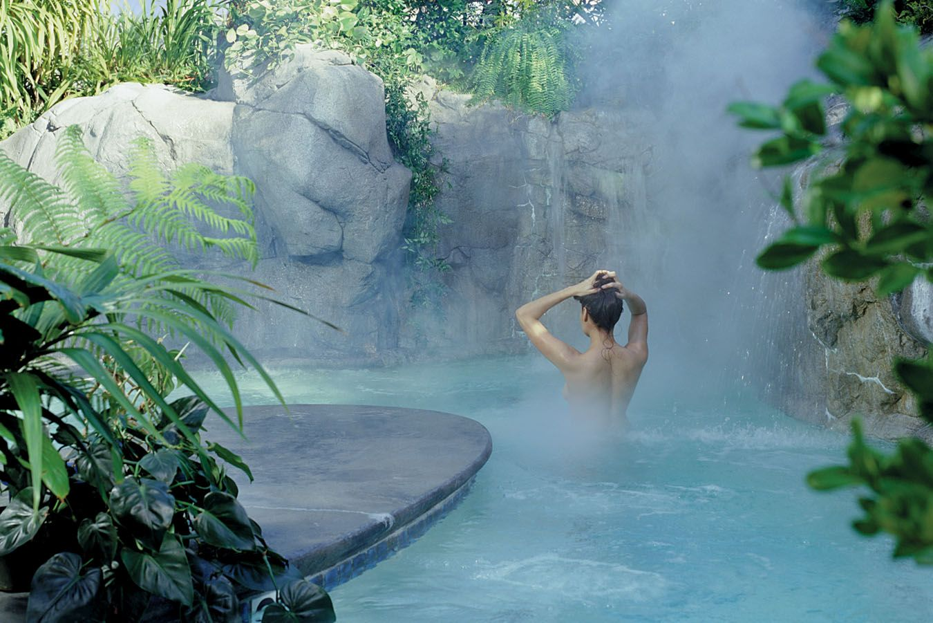 The Oasis Hot Tub At Sycamore Mineral Springs Resort
