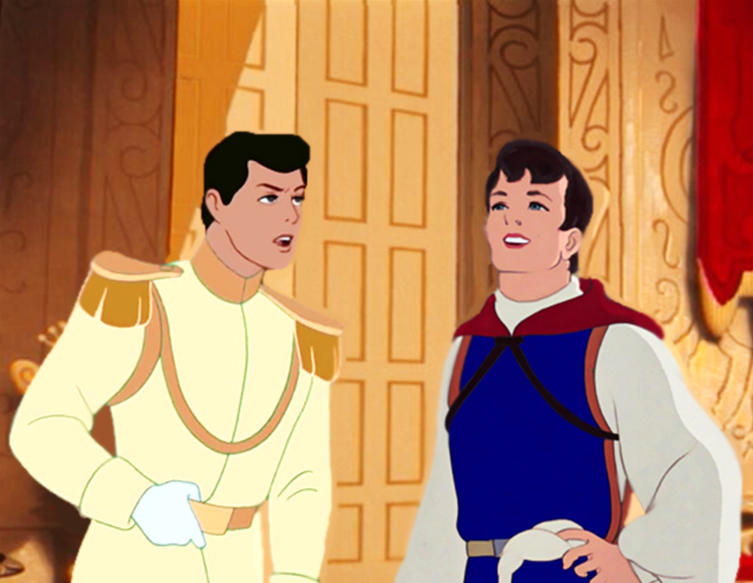 Prince Charming & The Prince | Disney Princes | Disney ...