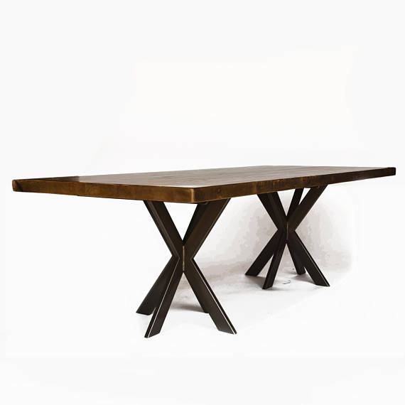 Urban Wood Goods Conference Table Office Table Office Furniture Choice Of Height Wood Thickness Furniture Table Furniture Reclaimed Wood Furniture