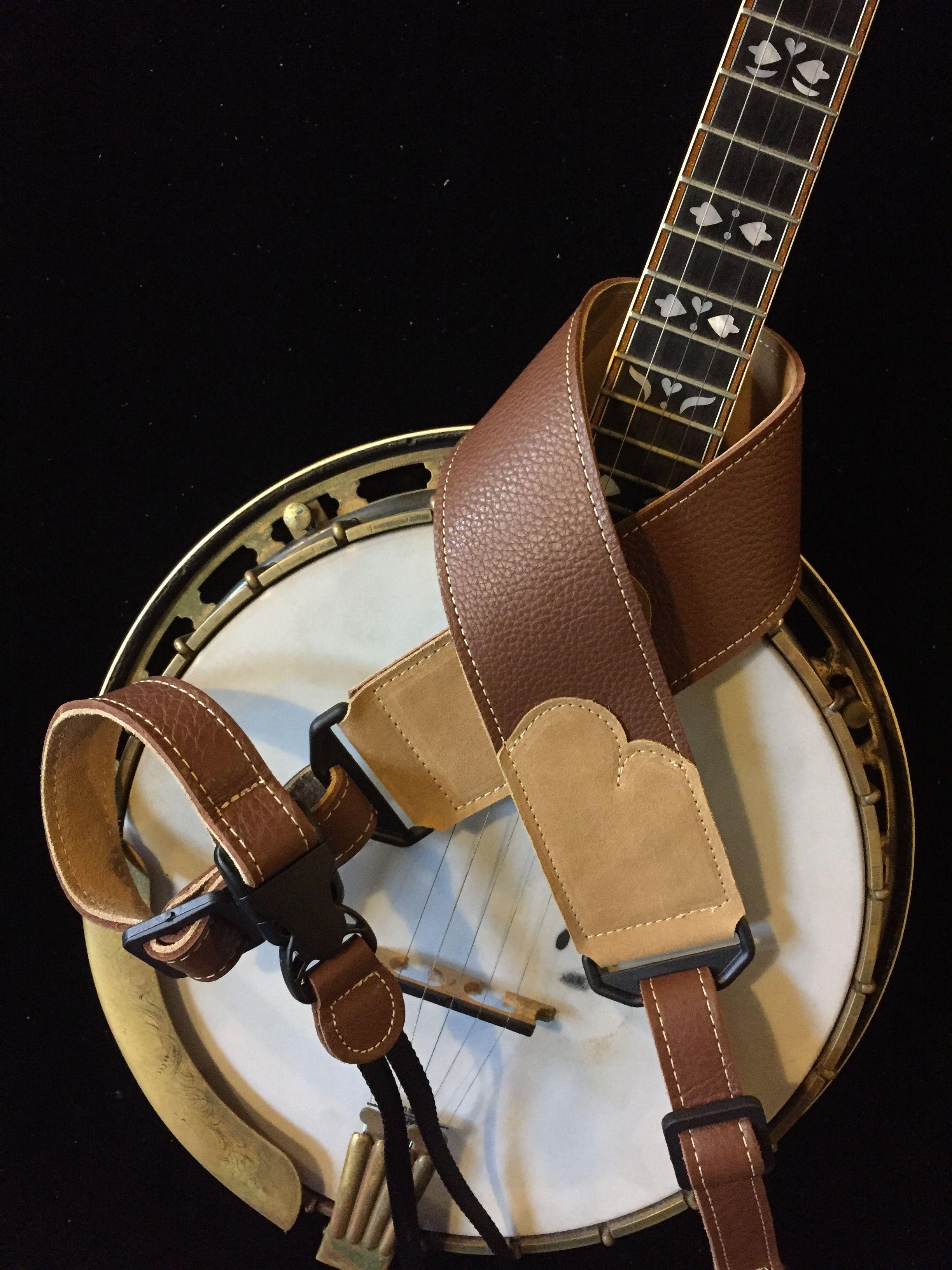Franklin Guitar Strap Model # FSSE-BK-BK Embossed in black with black ends