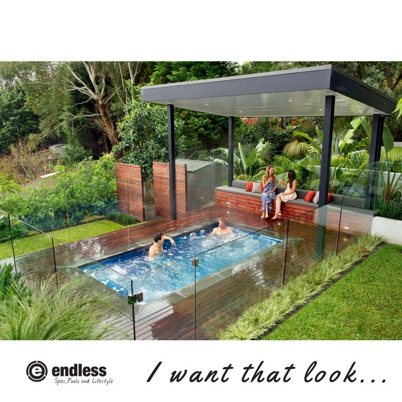 Above Ground Spa Landscape Ideas Image Of Astounding Swim Landscaping With Wooden Pool Deck And Gl Panel Surround
