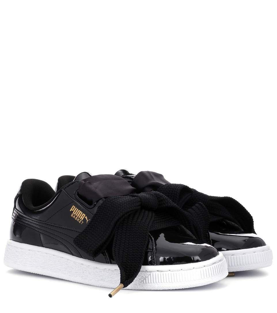 Puma Patent Shoes Pinterest Sneakers Heart Basket fwrEqfP